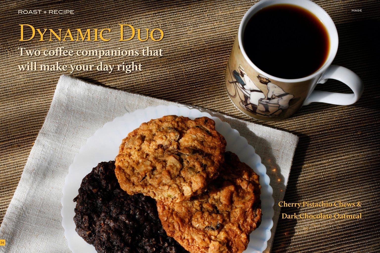 Recipe - Cookies with Coffee