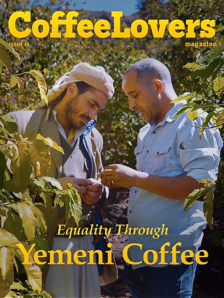 Yemen Coffee - Economic and Social Equality - Coffee Lovers Magazine Issue 48