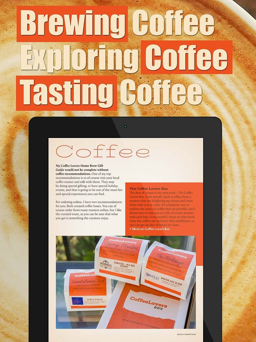 Brewing Exploring and Tasting Coffee